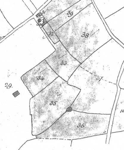 from the 1839 parish tithe map